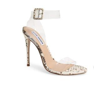 Steve Madden Seeme Sandal Snake Heels